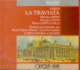 VERDI - Giulini - La traviata, opéra en trois actes live Covent Garden London 5 - 5 - 1967
