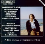 WAGNER - Lang - Wesendonck-Lieder, pour voix et piano WWV.91a : arrangem