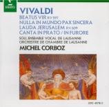 VIVALDI - Corboz - Beatus vir (Psaume 111) en do majeur, pour solistes