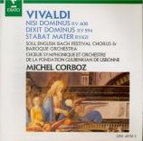 VIVALDI - Corboz - Nisi Dominus (Psaume 126) en sol mineur, pour alto, v