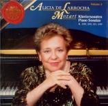 MOZART - De Larrocha - Sonate pour piano n°7 K.309
