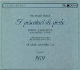 BIZET - De Fabritiis - Les pêcheurs de perles, opéra WD.13 live Napoli 4 - 01 - 1959 + récital Pobbe