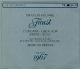 GOUNOD - Prêtre - Faust (Live Scala 16 - 2 - 1967) Live Scala 16 - 2 - 1967