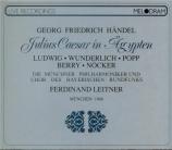 HAENDEL - Leitner - Giulio Cesare in Egitto (Jules Cesar), opéra en 3 ac