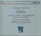 STRAUSS - Karajan - Elektra, opéra op.58 (Live Salzburg 11 - 8 - 1964) Live Salzburg 11 - 8 - 1964