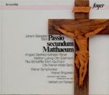 BACH - Karajan - Passion selon St Matthieu(Matthäus-Passion), pour soli Bach Festival Wien 9 - 6 - 1950