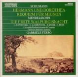 SCHUMANN - Ferro - Hermann und Dorothea, ouverture pour orchestre en si
