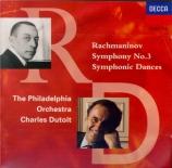 RACHMANINOV - Dutoit - Symphonie n°3 op.44