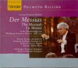 HAENDEL - Rilling - Messiah (Le Messie), oratorio HWV.56 : orchestration