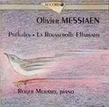 MESSIAEN - Muraro - Huit préludes pour piano (1929)