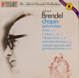 CHOPIN - Brendel - Polonaise pour piano en la bémol majeur op.53 'Héroiq
