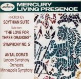 PROKOFIEV - Dorati - Suite Scythe, suite de concert pour orchestre d'apr