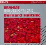 BRAHMS - Haitink - Sérénade n°1, pour orchestre en ré majeur op.11