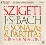 BACH - Szigeti - Partita pour violon seul n°1 en si mineur BWV.1002