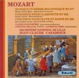MOZART - Casadesus - Maurerische Trauermusik, musique maçonnique funérai