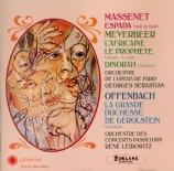 MASSENET - Sebastian - Espada, ballet
