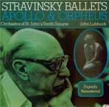 STRAVINSKY - Lubbock - Apollon musagète, ballet en 2 tableaux pour orche