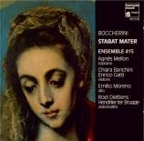 BOCCHERINI - Banchini - Stabat Mater, pour soprano solo avec cordes op.6
