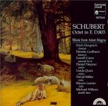 SCHUBERT - Music from Asto - Octuor en fa majeur pour cordes et vents op
