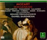 MOZART - Barenboim - Don Giovanni (Don Juan), dramma giocoso en deux act