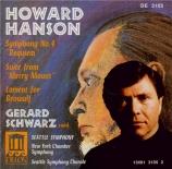HANSON - Schwarz - Symphonie n°4 op.34 'Requiem'