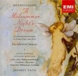 MENDELSSOHN-BARTHOLDY - Tate - Ein Sommernachtstraum (Le songe d'une nui