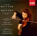 MOZART - Mutter - Concerto pour violon et orchestre n°1 en si bémol maje