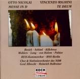NICOLAI - Hollreiser - Messe en ré majeur