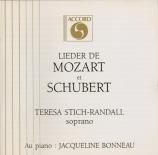 MOZART - Stich-Randall - Das Veilchen, lied pour voix et piano K.476