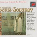 MOUSSORGSKY - Tchakarov - Boris Godounov