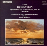 RUBINSTEIN - Stankovsky - Symphonie n°4 op.95 'Dramatique'