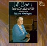 BACH - Nikolayeva - Toccata et fugue pour orgue en ré mineur BWV.565 (at