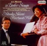 MOZART - Shirai - Ridente la calma, canzonetta pour voix et piano K.152