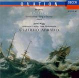 BRAHMS - Abbado - Rinaldo (Goethe), cantate pour ténor et chœur d'hommes