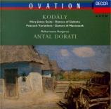 KODALY - Dorati - Hary Janos, suite pour grand orchestre