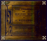 STRAVINSKY - Cluytens - Œdipus Rex, opéra-oratorio en 2 actes d'après So