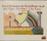 SZYMANOWSKI - Satanowski - Le roi Roger