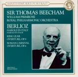 BERLIOZ - Beecham - Harold en Italie op.16