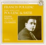 POULENC - Bernac - Trois mouvements perpétuels, pour piano FP.014a
