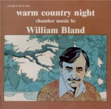 BLAND - Eckhardt - Warm Country Night, pour flûte et piano