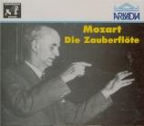 MOZART - Furtwängler - Flûte enchantée (La) K.620 (Die Zauberflöte) live Salzburg 6 - 8 - 1951 + extraits 27 - 7 - 1949