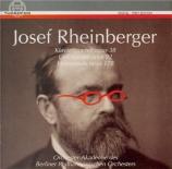 RHEINBERGER - Orchester-Akade - Quatuor avec clavier en mi bémol majeur