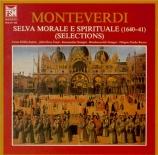 MONTEVERDI - Bernius - Selva morale e spirituale : extraits