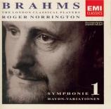 BRAHMS - Norrington - Variations sur un thème de Haydn op.56a