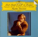 LISZT - Zimerman - Trübe Wolken (Nuages gris), pour piano S.199