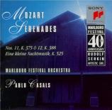 MOZART - Casals - Sérénade n°13, pour orchestre en sol majeur K.525 'Ein