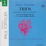 SCHUMANN - Hubeau - Trio avec piano n°1 en ré mineur op.63