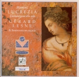 HAENDEL - Lesne - La Lucrezia, cantate HWV.145 (aussi 'Oh numi eterni')