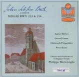 BACH - Herreweghe - Messe luthérienne en fa majeur, pour solistes, choeur