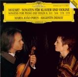 MOZART - Dumay - Sonate pour violon et piano n°21 en mi mineur K.304 (K6